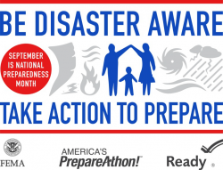 Be Disaster Aware - Take Action to Prepare