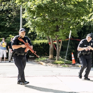 EKU Police Responding during Exercise
